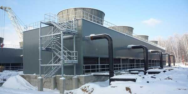 کاهش دمای برج خنک کننده
