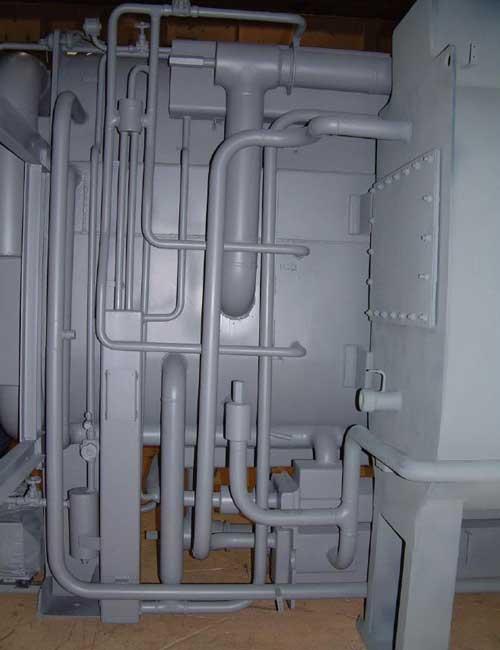 سیستم پرجینگ چیلر جذبی شعله مستقیم 16 DN