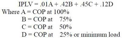 فرمول محاسبه IPLV