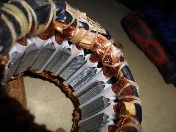 سوختگی سیم پیچ فن کویل که نیاز به تعمیر فن کویل است