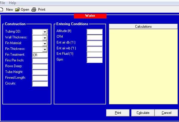 تنظیمات نرم افزار طراحی کویل USA Coil