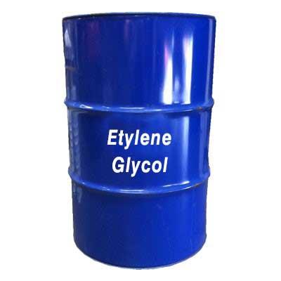 اتیل گلیکول به عنوان ضد یخ در سیستم چیلر زیر صفر استفاده می شود.