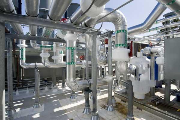 عایق کاری موتورخانه و سیستم گرمایش و سرمایش ساختمان