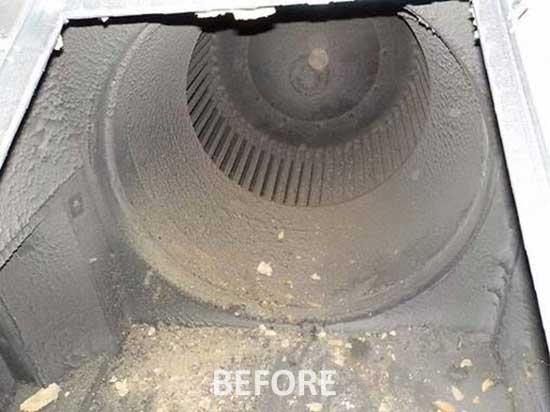 قبل از تعمیر هواساز