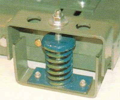 لرزه گیر پایه های دستگاه هواساز