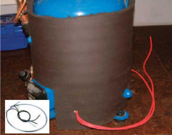 کنترل فشار کندانسور ها آبی