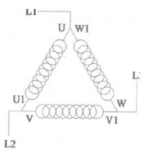 راه اندازی موتور سه فاز سیم پیچ مثلث