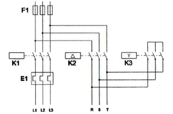 طراحی مدار قدرت ستاره مثلث